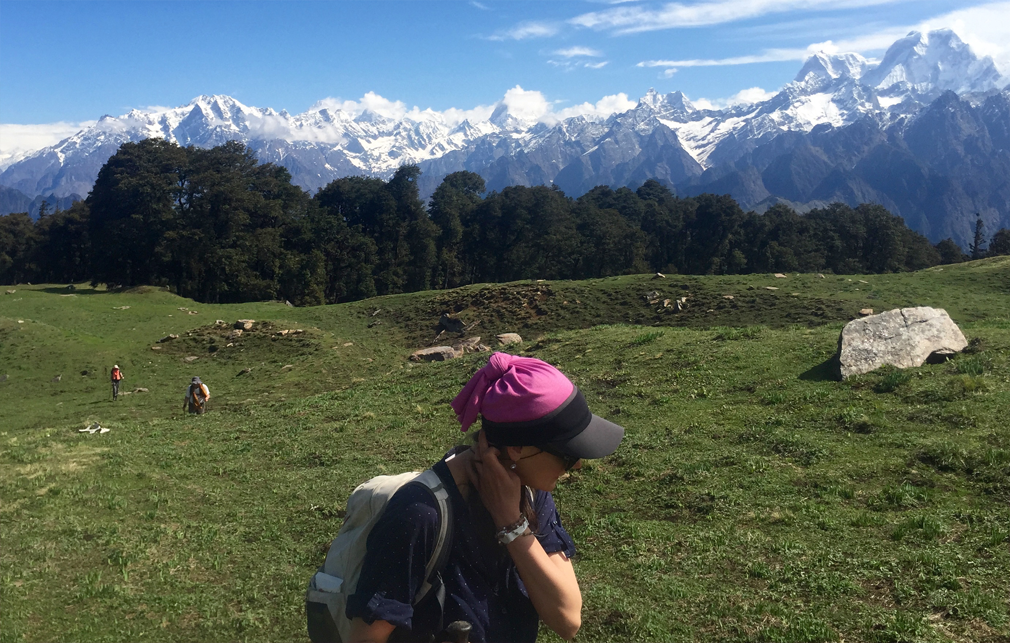 Himalaya Pilger Reise mit Yoga Vihar